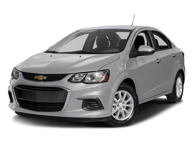 Silver Ice Metallic 2017 Chevrolet Sonic Pictures Sonic 4dr Sdn Auto Premier photos front view