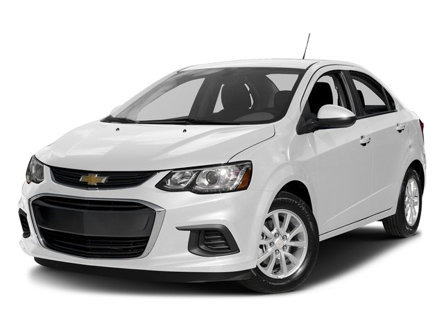 Summit White 2017 Chevrolet Sonic Pictures Sonic 4dr Sdn Auto Premier photos front view