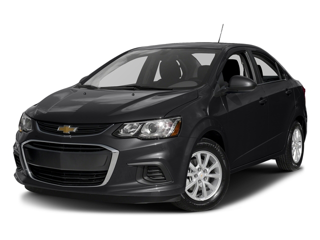 Mosaic Black Metallic 2017 Chevrolet Sonic Pictures Sonic 4dr Sdn Auto Premier photos front view