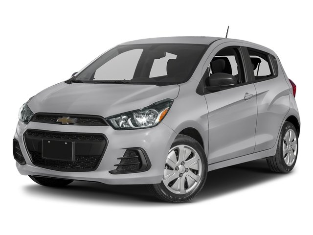 Silver Ice 2017 Chevrolet Spark Pictures Spark 5dr HB Man LS photos front view