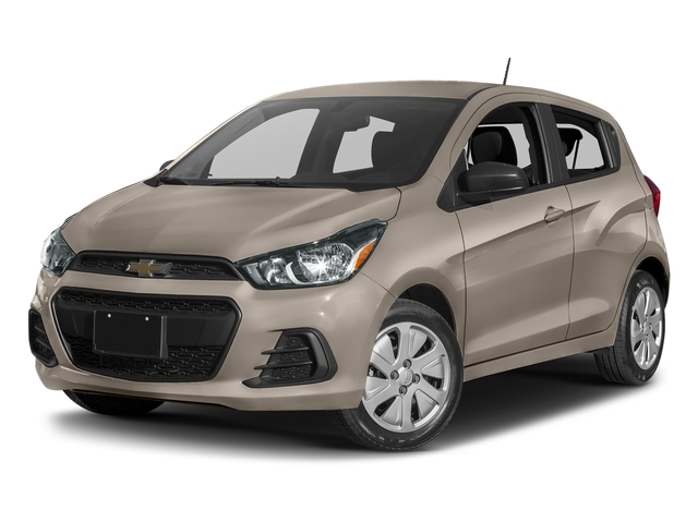 Toasted Marshmallow 2017 Chevrolet Spark Pictures Spark 5dr HB Man LS photos front view