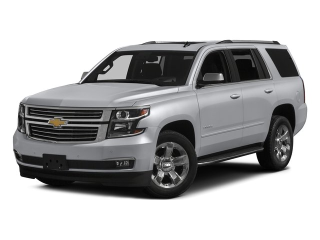 Silver Ice Metallic 2017 Chevrolet Tahoe Pictures Tahoe 4WD 4dr Premier photos front view