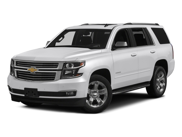 Summit White 2017 Chevrolet Tahoe Pictures Tahoe 4WD 4dr Premier photos front view