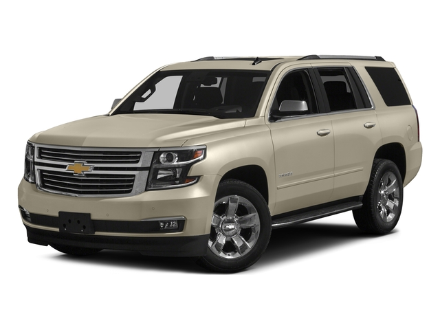Champagne Silver Metallic 2017 Chevrolet Tahoe Pictures Tahoe 4WD 4dr Premier photos front view