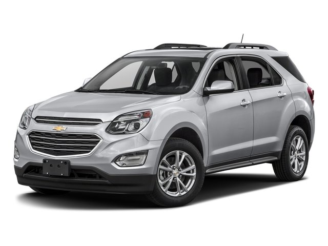 Silver Ice Metallic 2017 Chevrolet Equinox Pictures Equinox AWD 4dr LT w/2FL photos front view