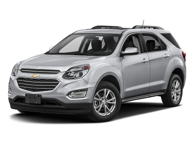 Silver Ice Metallic 2017 Chevrolet Equinox Pictures Equinox FWD 4dr LT w/1LT photos front view