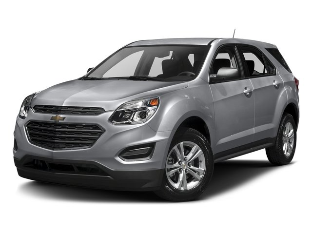 Silver Ice Metallic 2017 Chevrolet Equinox Pictures Equinox FWD 4dr L photos front view