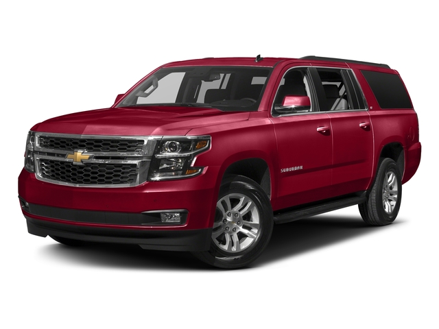 Siren Red Tintcoat 2017 Chevrolet Suburban Pictures Suburban 2WD 4dr 1500 LT photos front view