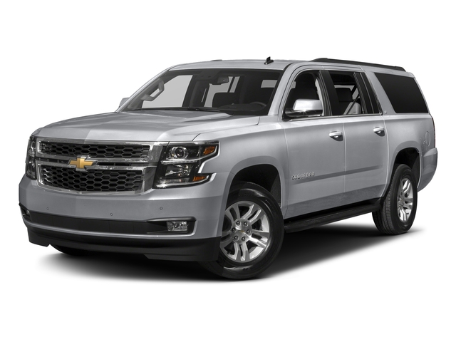 Silver Ice Metallic 2017 Chevrolet Suburban Pictures Suburban 2WD 4dr 1500 LT photos front view