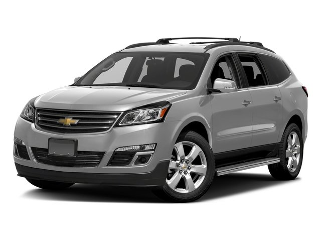 Silver Ice Metallic 2017 Chevrolet Traverse Pictures Traverse AWD 4dr LT w/1LT photos front view