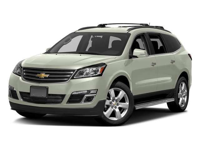 Iridescent Pearl Tricoat 2017 Chevrolet Traverse Pictures Traverse AWD 4dr LT w/1LT photos front view