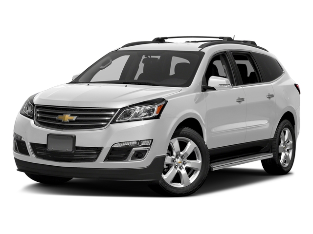 Summit White 2017 Chevrolet Traverse Pictures Traverse AWD 4dr LT w/1LT photos front view