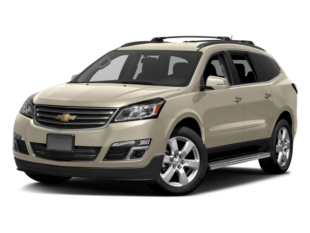 Champagne Silver Metallic 2017 Chevrolet Traverse Pictures Traverse AWD 4dr LT w/1LT photos front view