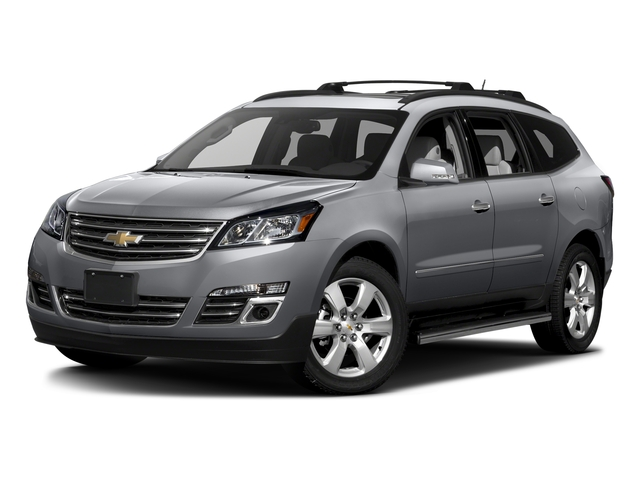 Silver Ice Metallic 2017 Chevrolet Traverse Pictures Traverse AWD 4dr Premier photos front view