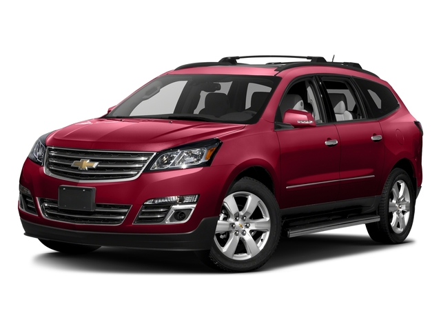 Siren Red Tintcoat 2017 Chevrolet Traverse Pictures Traverse AWD 4dr Premier photos front view