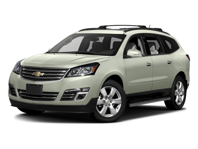 Iridescent Pearl Tricoat 2017 Chevrolet Traverse Pictures Traverse AWD 4dr Premier photos front view