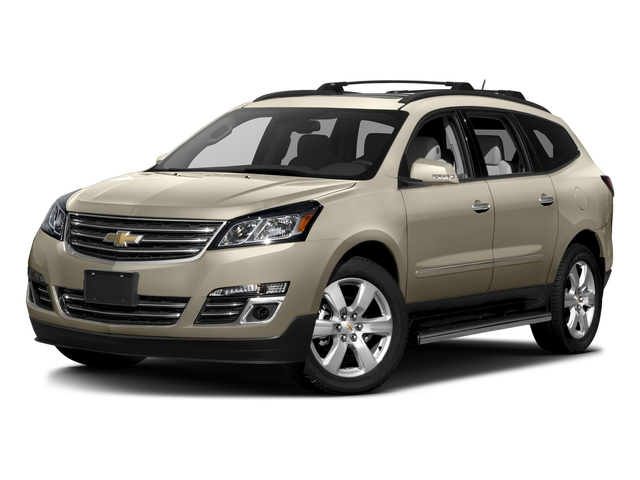 Champagne Silver Metallic 2017 Chevrolet Traverse Pictures Traverse AWD 4dr Premier photos front view