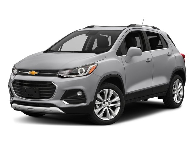 Silver Ice Metallic 2017 Chevrolet Trax Pictures Trax AWD 4dr Premier photos front view