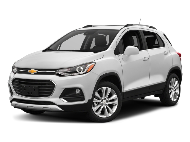 Summit White 2017 Chevrolet Trax Pictures Trax AWD 4dr Premier photos front view