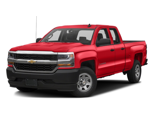 Red Hot 2017 Chevrolet Silverado 1500 Pictures Silverado 1500 2WD Double Cab 143.5 Work Truck photos front view