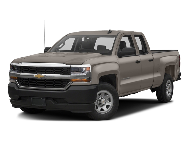 Pepperdust Metallic 2017 Chevrolet Silverado 1500 Pictures Silverado 1500 2WD Double Cab 143.5 Work Truck photos front view
