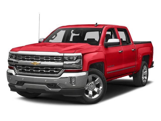 Red Hot 2017 Chevrolet Silverado 1500 Pictures Silverado 1500 4WD Crew Cab 153.0 LTZ w/1LZ photos front view