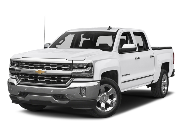 Summit White 2017 Chevrolet Silverado 1500 Pictures Silverado 1500 4WD Crew Cab 153.0 LTZ w/1LZ photos front view