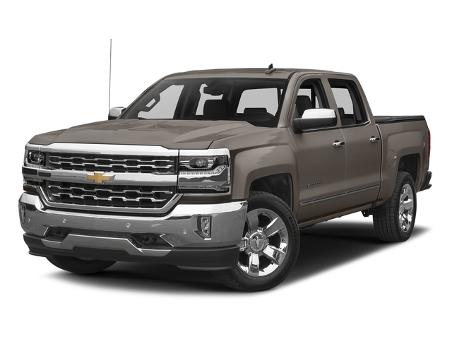 Pepperdust Metallic 2017 Chevrolet Silverado 1500 Pictures Silverado 1500 4WD Crew Cab 153.0 LTZ w/1LZ photos front view
