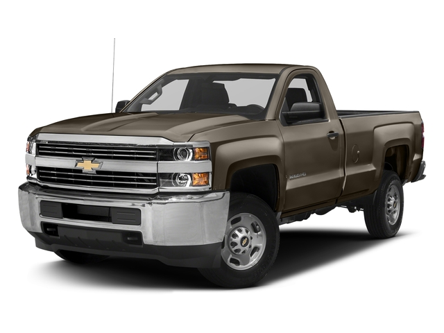 Pepperdust Metallic 2017 Chevrolet Silverado 3500HD Pictures Silverado 3500HD 2WD Reg Cab 133.6 Work Truck photos front view