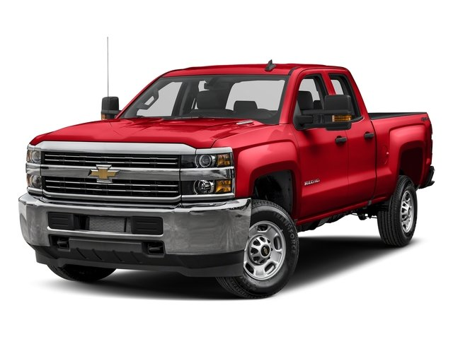 Red Hot 2017 Chevrolet Silverado 2500HD Pictures Silverado 2500HD 4WD Double Cab 158.1 Work Truck photos front view
