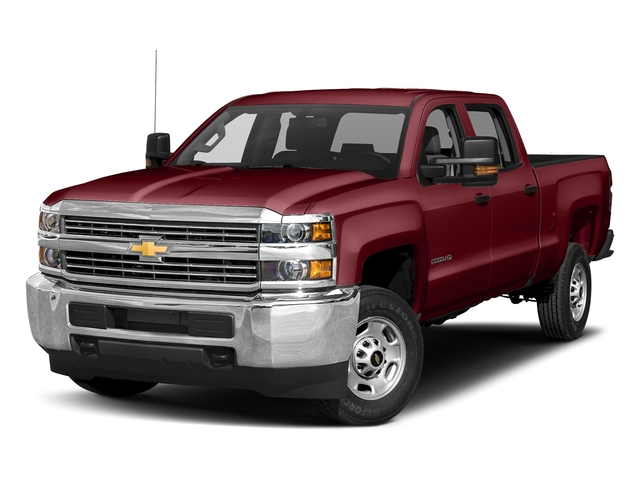 Butte Red Metallic 2017 Chevrolet Silverado 2500HD Pictures Silverado 2500HD 2WD Crew Cab 153.7 Work Truck photos front view