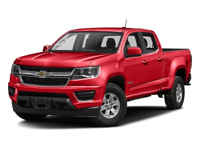 Red Hot 2017 Chevrolet Colorado Pictures Colorado 2WD Crew Cab 140.5 WT photos front view