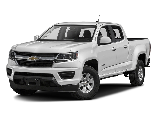 Summit White 2017 Chevrolet Colorado Pictures Colorado 2WD Crew Cab 140.5 WT photos front view