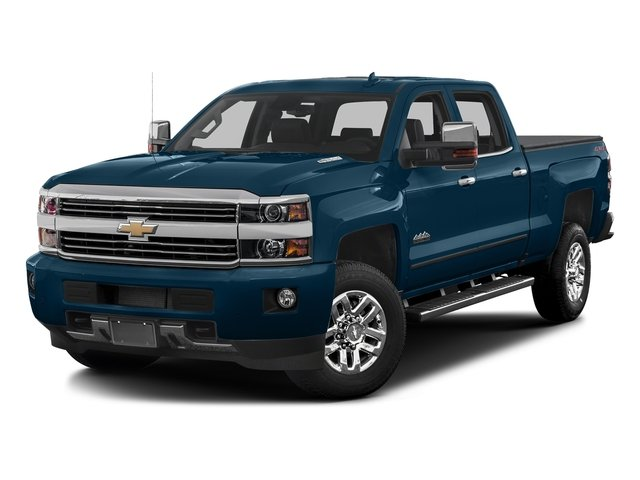 Deep Ocean Blue Metallic 2017 Chevrolet Silverado 3500HD Pictures Silverado 3500HD 2WD Crew Cab 153.7 High Country photos front view
