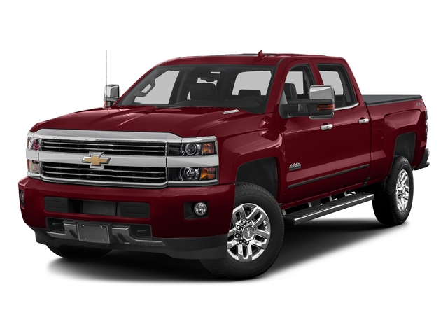 Butte Red Metallic 2017 Chevrolet Silverado 3500HD Pictures Silverado 3500HD 2WD Crew Cab 153.7 High Country photos front view