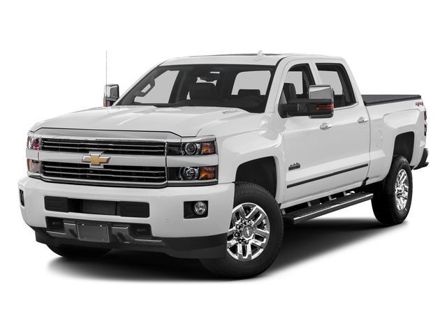 Summit White 2017 Chevrolet Silverado 3500HD Pictures Silverado 3500HD 2WD Crew Cab 153.7 High Country photos front view