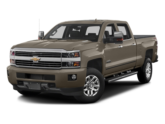 Pepperdust Metallic 2017 Chevrolet Silverado 3500HD Pictures Silverado 3500HD 2WD Crew Cab 153.7 High Country photos front view