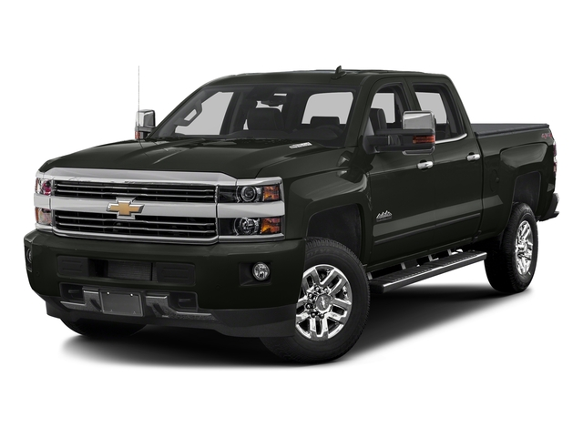 Graphite Metallic 2017 Chevrolet Silverado 3500HD Pictures Silverado 3500HD 2WD Crew Cab 153.7 High Country photos front view
