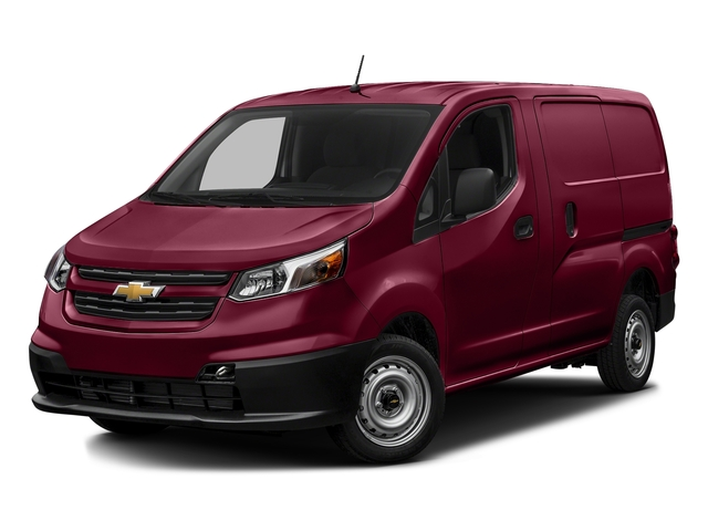 Furnace Red 2017 Chevrolet City Express Cargo Van Pictures City Express Cargo Van FWD 115 LS photos front view