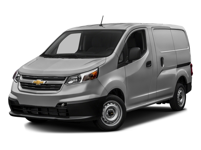 Galvanized Silver 2017 Chevrolet City Express Cargo Van Pictures City Express Cargo Van FWD 115 LS photos front view