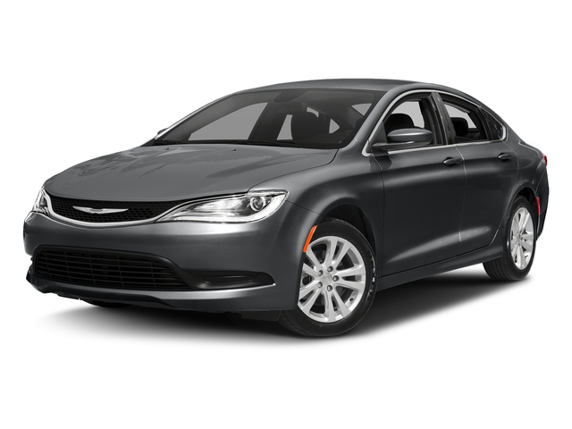 Granite Crystal Metallic Clearcoat 2017 Chrysler 200 Pictures Sedan 4d Lx I4 Photos Front View