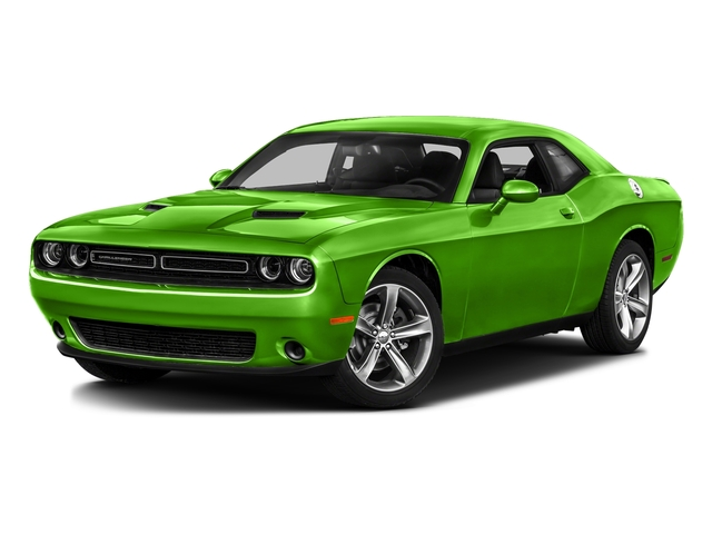 Green Go Clearcoat 2017 Dodge Challenger Pictures Challenger SXT Plus Coupe photos front view