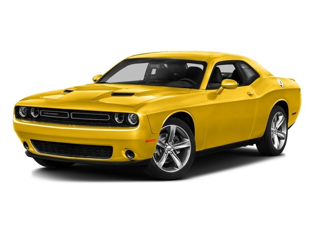 Yellow Jacket Clearcoat 2017 Dodge Challenger Pictures Challenger SXT Plus Coupe photos front view