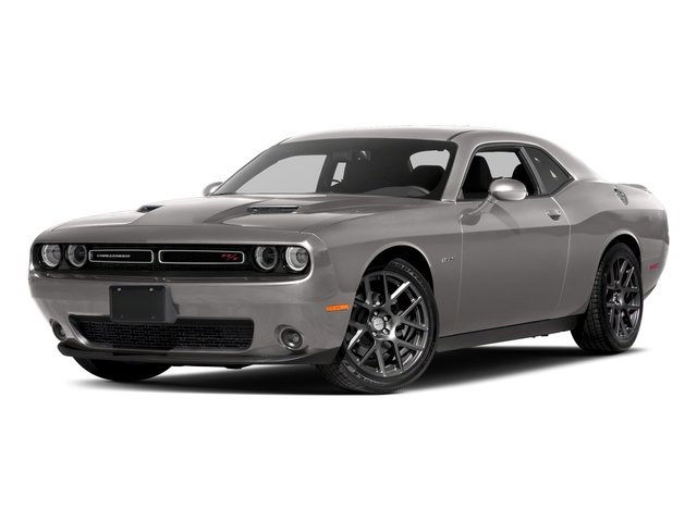 Destroyer Gray Clearcoat 2017 Dodge Challenger Pictures Challenger Coupe 2D R/T Plus V8 photos front view