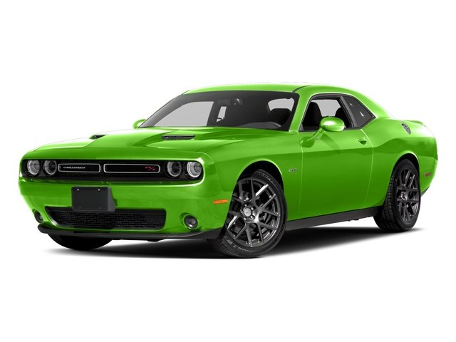 Green Go Clearcoat 2017 Dodge Challenger Pictures Challenger Coupe 2D R/T Plus V8 photos front view
