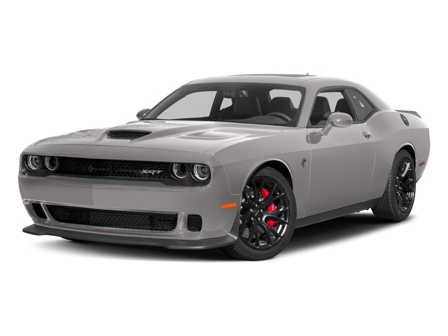 Destroyer Gray Clearcoat 2017 Dodge Challenger Pictures Challenger Coupe 2D SRT Hellcat V8 Supercharged photos front view