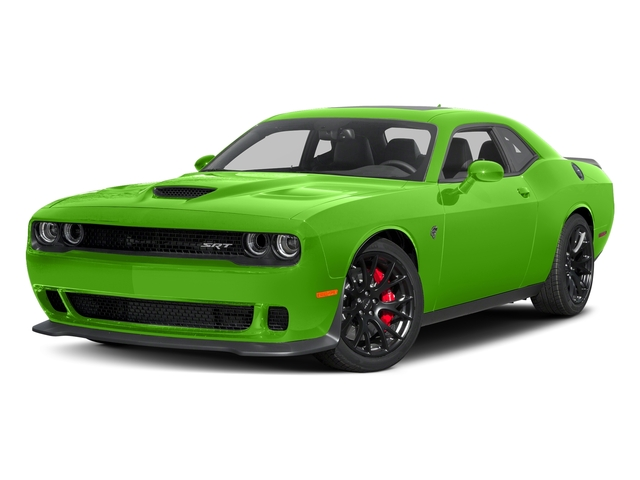 Green Go Clearcoat 2017 Dodge Challenger Pictures Challenger Coupe 2D SRT Hellcat V8 Supercharged photos front view