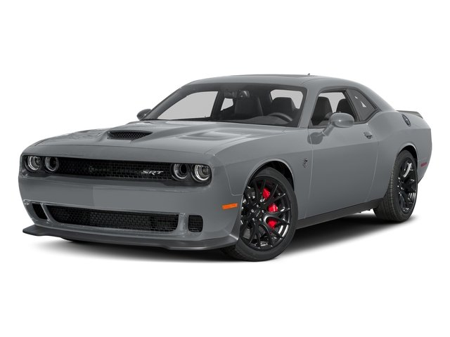 Billet Clearcoat 2017 Dodge Challenger Pictures Challenger Coupe 2D SRT Hellcat V8 Supercharged photos front view