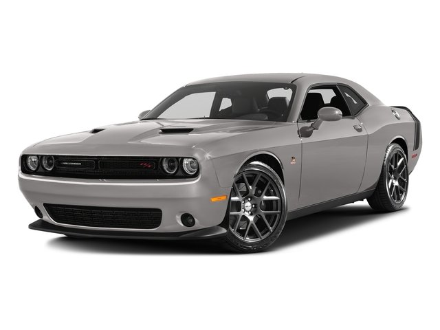 Destroyer Gray Clearcoat 2017 Dodge Challenger Pictures Challenger 392 Hemi Scat Pack Shaker Coupe photos front view