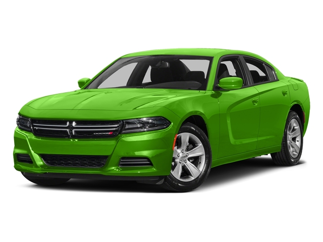 Green Go Clearcoat 2017 Dodge Charger Pictures Charger Sedan 4D SE V6 photos front view